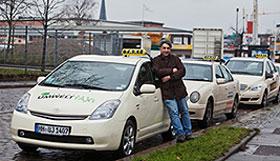 Hybrid-Hamburg Taxi